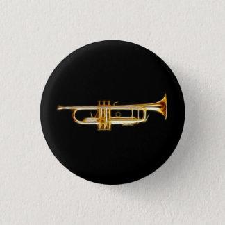Trumpet Brass Horn Wind Musical Instrument Button