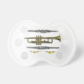 trumpet brass pass pacifier
