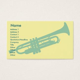 Trumpet - Business Business Card