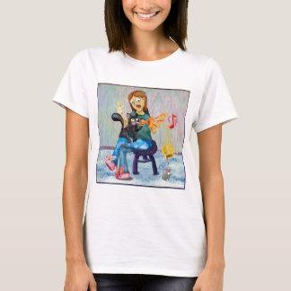 trumpet-cat.png T-Shirt