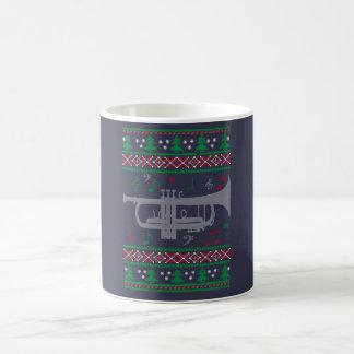 Trumpet Christmas Coffee Mug