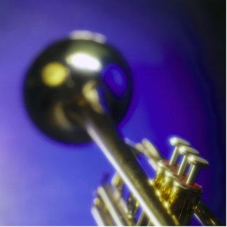Trumpet Close-Up 2 Cutout