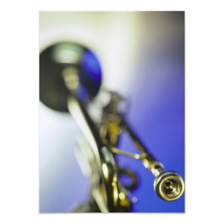 Trumpet Close-Up Card