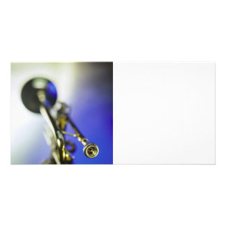 Trumpet Close-Up Photo Cards