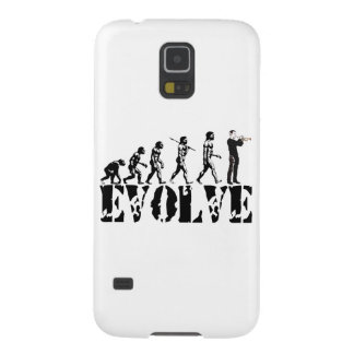 Trumpet Cornet Bugle Band Musical Music Evolution Galaxy S5 Case