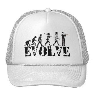 Trumpet Cornet Bugle Band Musical Music Evolution Trucker Hat