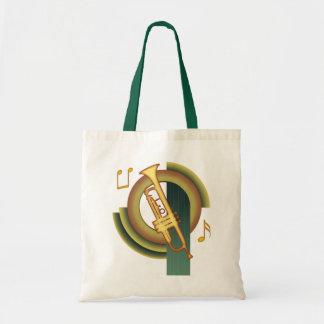 Trumpet Deco Tote Bag