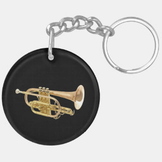 """""""Trumpet"""" design gifts and products Keychain"""