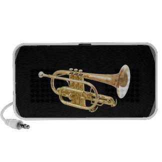 """""""Trumpet"""" design gifts and products Laptop Speaker"""
