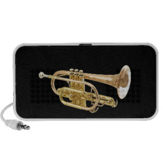 """""""Trumpet"""" design gifts and products iPhone Speakers"""