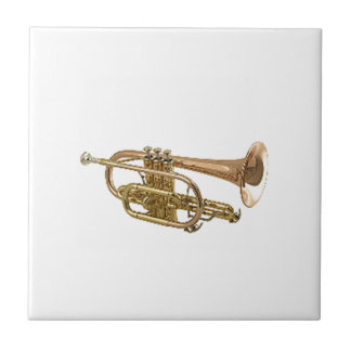 """""""Trumpet"""" design gifts and products Tile"""