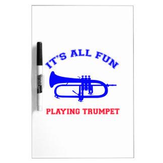 Trumpet Designs Dry-Erase Whiteboards