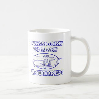 Trumpet Designs Classic White Coffee Mug