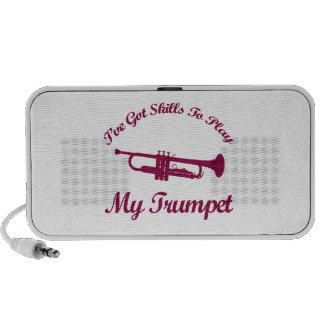 Trumpet designs mp3 speaker