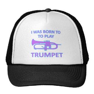 Trumpet Designs Trucker Hat