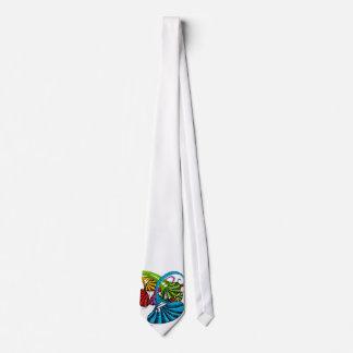 Trumpet doodle tie