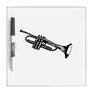 Trumpet Dry Erase Board