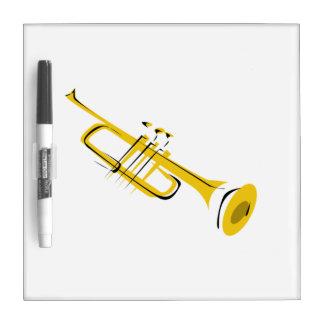 Trumpet Dry-Erase Whiteboard