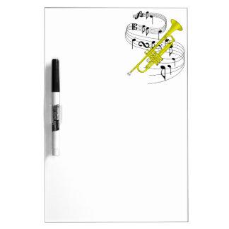 Trumpet Dry-Erase Board