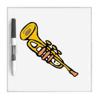 Trumpet Dry Erase Whiteboard