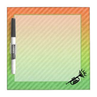 Trumpet Dry-Erase Boards