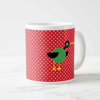 Trumpet Duck 20 Oz Large Ceramic Coffee Mug