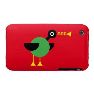 Trumpet Duck iPhone 3 Case