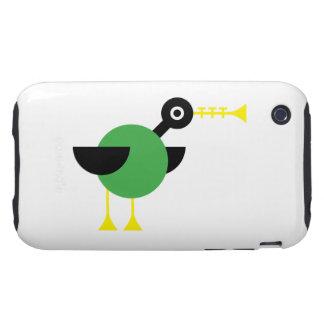 Trumpet Duck Tough iPhone 3 Case