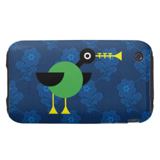 Trumpet Duck iPhone 3 Tough Cover