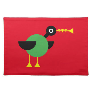 Trumpet Duck Cloth Placemat