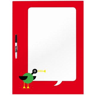 Trumpet Duck Dry-Erase Boards