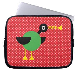Trumpet Duck Laptop Sleeve
