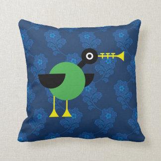Trumpet Duck Pillow