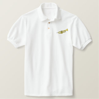 Trumpet Embroidered Polo Shirt