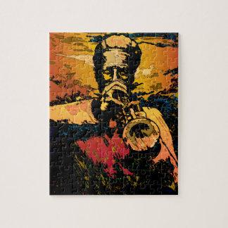 Trumpet Fire Jigsaw Puzzles