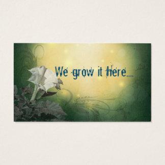 Trumpet Flower Business Cards