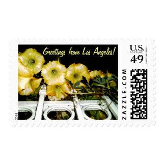 Trumpet Flower Vine Stamps