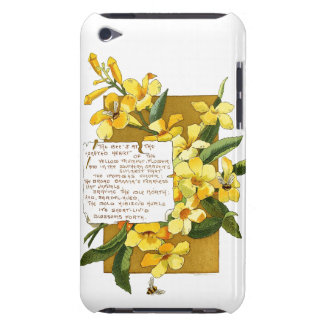 Trumpet Flowers Bermuda Island Floral Poem Barely There iPod Case