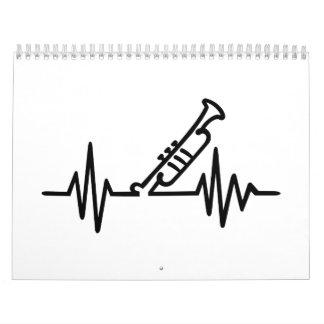 Trumpet frequency calendar