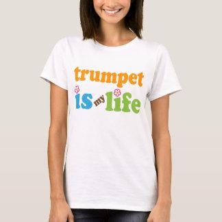 Trumpet Gift Girls T-Shirt
