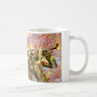 Trumpet Harmony Classic White Coffee Mug