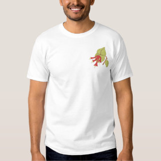 Trumpet Honeysuckle Embroidered T-Shirt