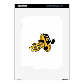TRUMPET HORN iPad 3 SKIN