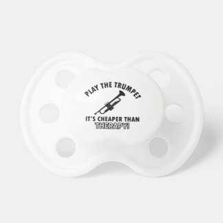 TRUMPET instrument designs Pacifier