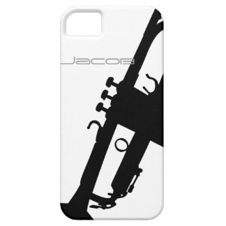 Trumpet iPhone5 5S with Custom Name iPhone 5/5S Cover