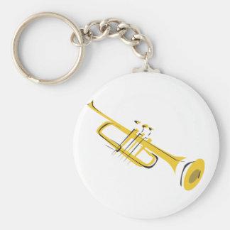 Trumpet Keychain