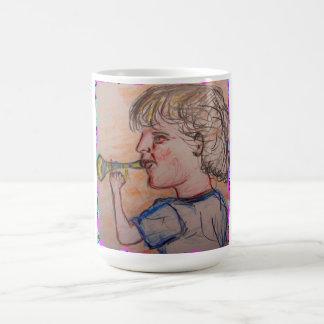Trumpet Kid Coffee Mug