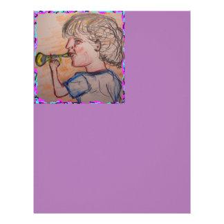 Trumpet Kid Letterhead