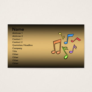 Trumpet Lessons Business Card