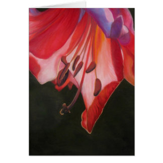 Trumpet Lily Greeting Card